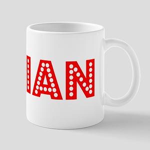 Retro Dalian (Red) Mug