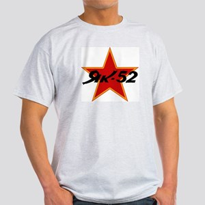 Yak52 Star Logo Ash Grey T-Shirt