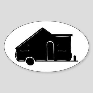 A-FrameXL Oval Sticker