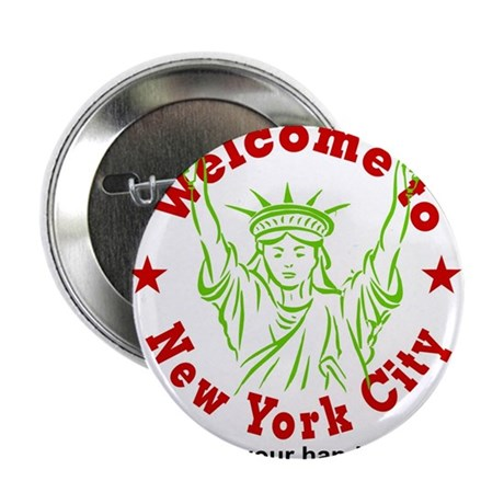 Welcome to NY Button
