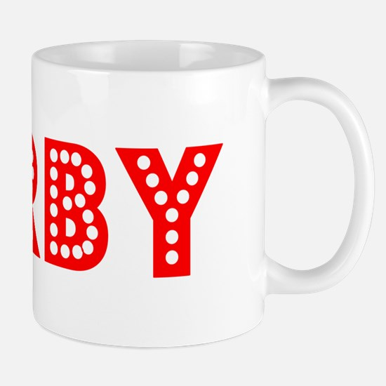 Retro Derby (Red) Mug