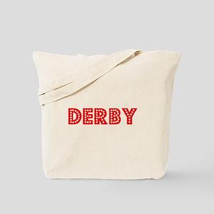 Retro Derby (Red) Tote Bag