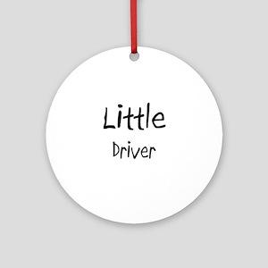 Little Driver Ornament (Round)