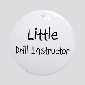 Little Drill Instructor Ornament (Round)