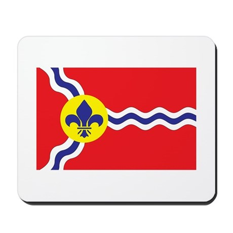 ST-LOUIS-CITY Mousepad