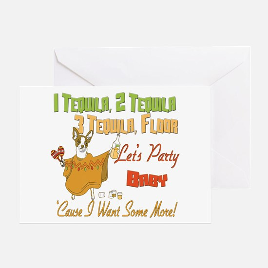 Tequila Party Greeting Card