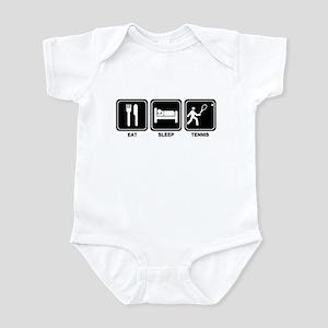 EAT SLEEP TENNIS Infant Bodysuit