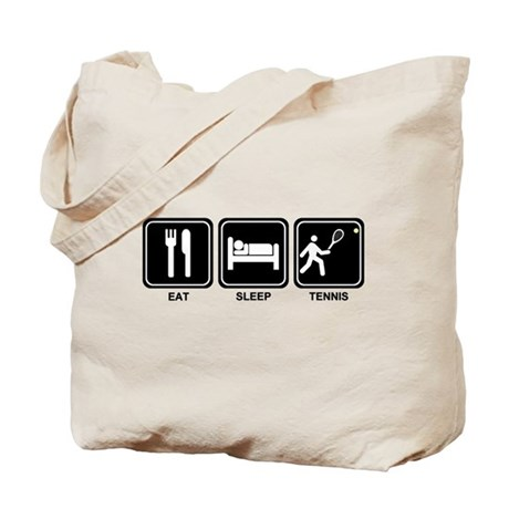 EAT SLEEP TENNIS Tote Bag