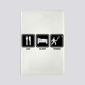 EAT SLEEP TENNIS Rectangle Magnet