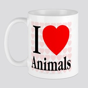 I Love Animals Mug