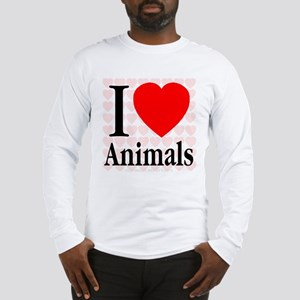 I Love Animals Long Sleeve T-Shirt