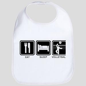 EAT SLEEP VOLLEYBALL Bib