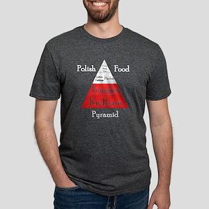 Polish Food Pyramid Women's Dark T-Shirt