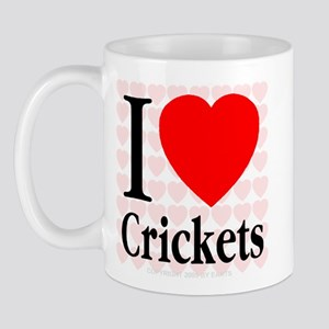 I Love Crickets Mug