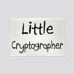 Little Cryptographer Rectangle Magnet