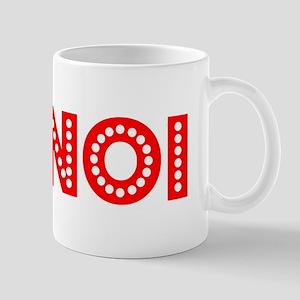 Retro Hanoi (Red) Mug