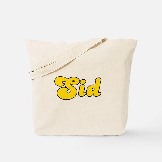 Retro Sid (Gold) Tote Bag