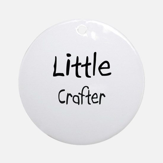 Little Crafter Ornament (Round)