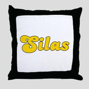 Retro Silas (Gold) Throw Pillow