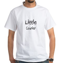 Little Courier White T-Shirt