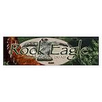 Rock Eagle Bumper Sticker