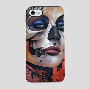 Dia de las Muertas Woman iPhone 8/7 Tough Case