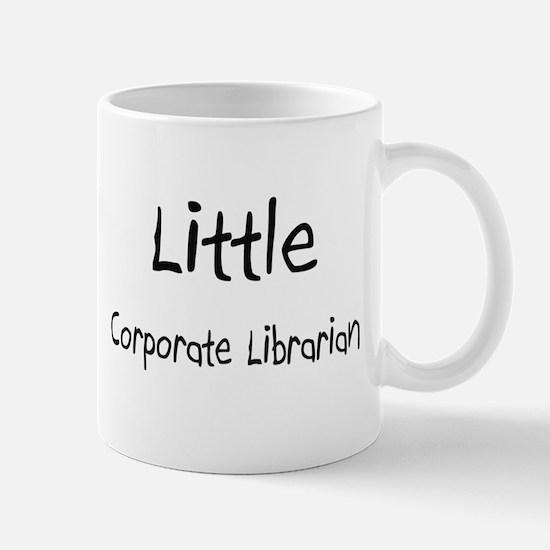 Little Corporate Librarian Mug