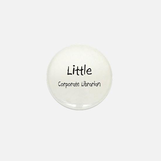 Little Corporate Librarian Mini Button