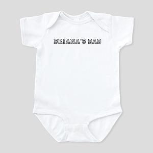 Brianas father Infant Bodysuit