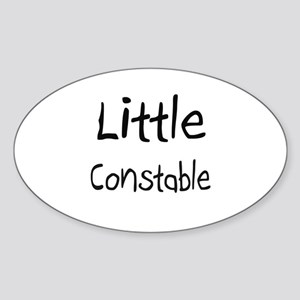 Little Constable Oval Sticker