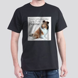 Happy Place Sheltie T-Shirt