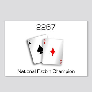 Fizzbin Champion Postcards (Package of 8)