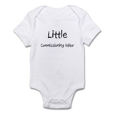 Little Commissioning Editor Infant Bodysuit