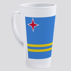 ARUBA FLAG 17 oz Latte Mug