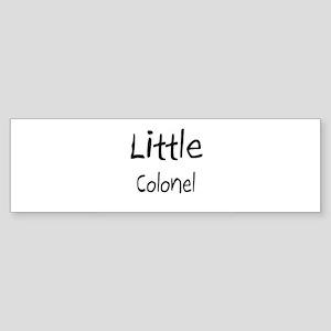 Little Colonel Bumper Sticker