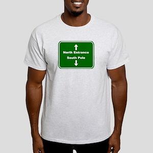 North & South Ash Grey T-Shirt
