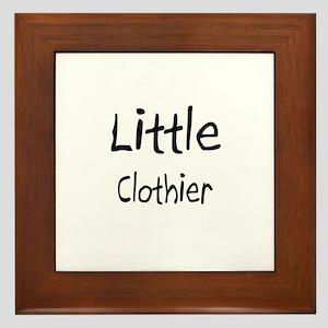Little Clothier Framed Tile