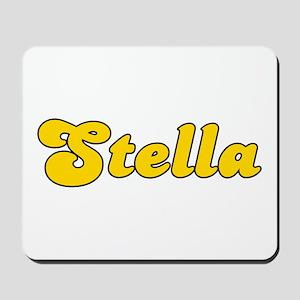 Retro Stella (Gold) Mousepad