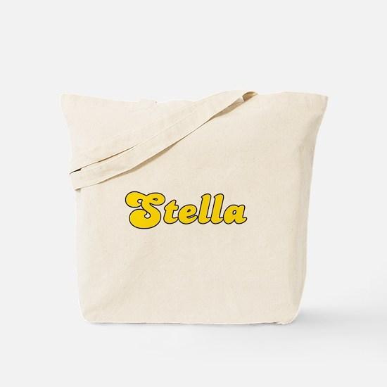 Retro Stella (Gold) Tote Bag