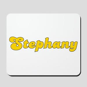 Retro Stephany (Gold) Mousepad