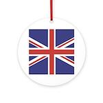 UNION JACK UK BRITISH FLAG Keepsake (Round)