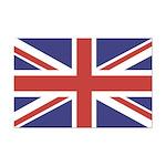 UNION JACK UK BRITISH FLAG Mini Poster Print