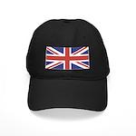 UNION JACK UK BRITISH FLAG Black Cap