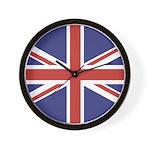 UNION JACK UK BRITISH FLAG Wall Clock