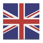 UNION JACK UK BRITISH FLAG Tile Coaster