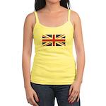 UNION JACK UK BRITISH FLAG Jr. Spaghetti Tank