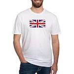 UNION JACK UK BRITISH FLAG Fitted T-Shirt