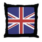 UNION JACK UK BRITISH FLAG Throw Pillow