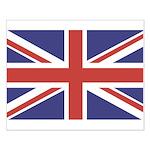 UNION JACK UK BRITISH FLAG Small Poster