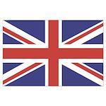 UNION JACK UK BRITISH FLAG Large Poster